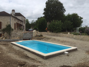 construction piscine Penne d'Agenais